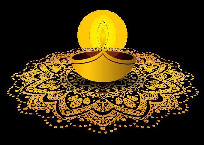 Diwali Rangoli free png file