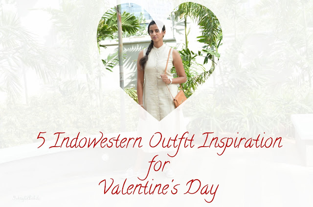 Indowestern outfits for date night