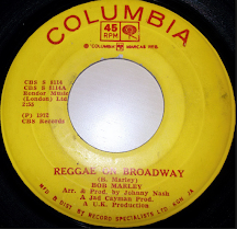 """Reggae On Broadway"""