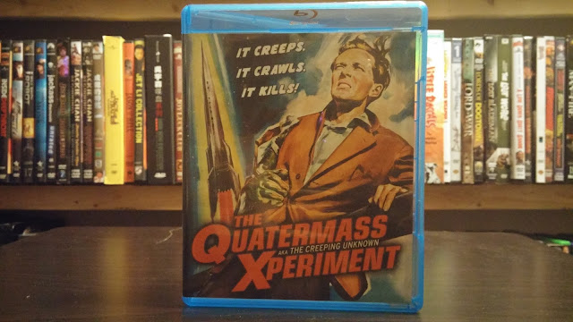 The Awesome Front Cover for the Kino Lorber Version of Quatermass Xperiment