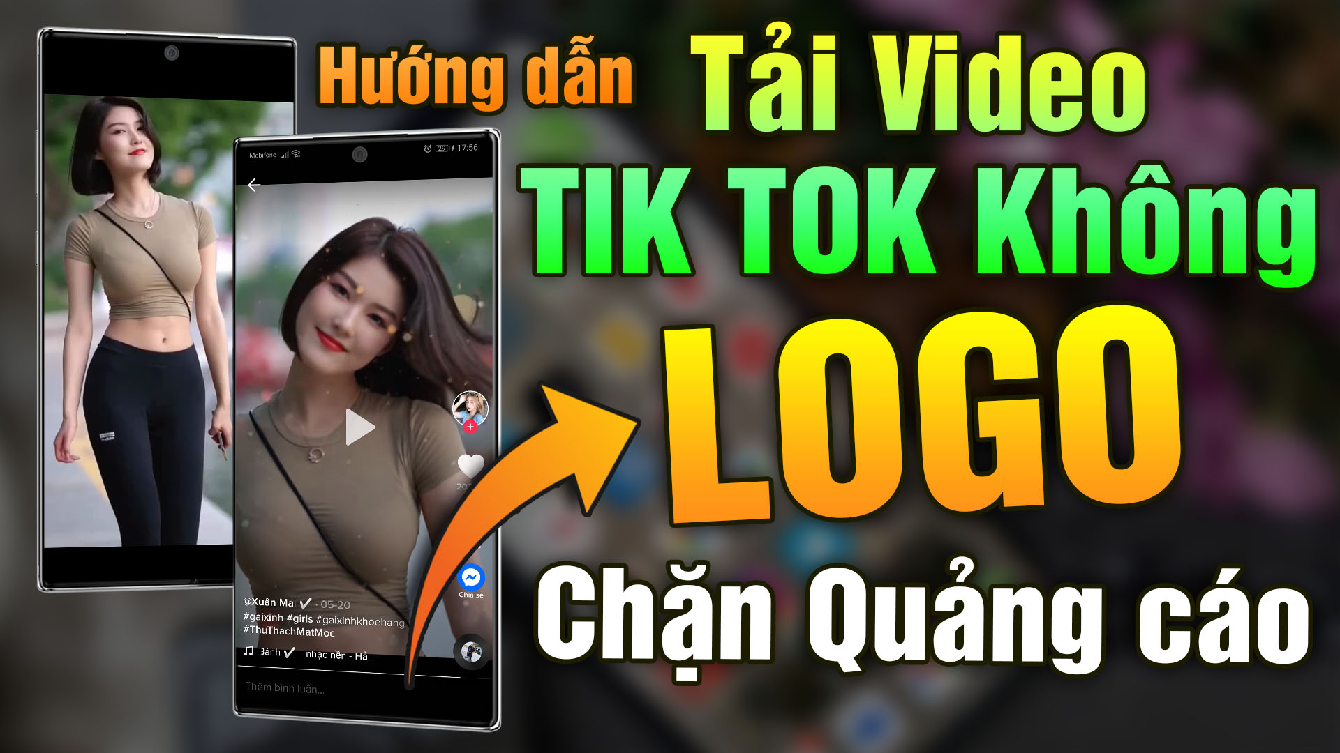 Chia sẻ ứng dụng Tik Tok Mod  Xoá Logo Trong Video 2021