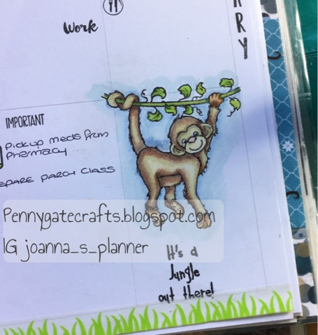 planner-girl-stamping-monkey-jo-whight