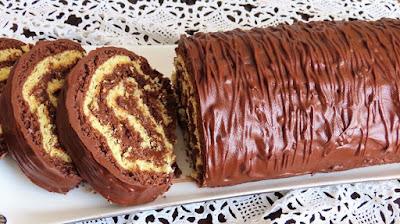 Najbolji rolat s nutellom i čokoladom / Amazing roll with nutella and chocolate