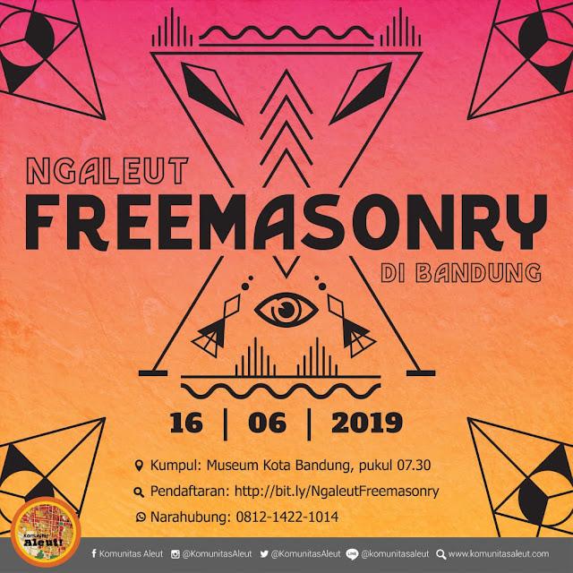 poster ngaleut freemason bandung