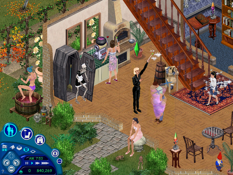 games the sims 1 full expansion full version the sims house party