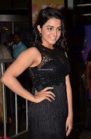 Wamiqa Gabbi in a sleeveless Black Designer Transparent Gown at 64th Jio Filmfare Awards South ~  Exclusive 029.JPG