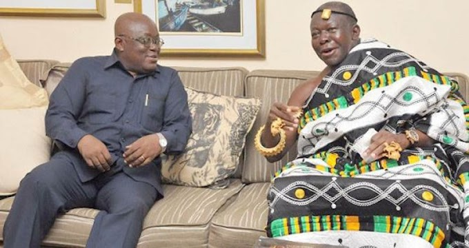 Akufo-Addo was my personal lawyer – Asantehene