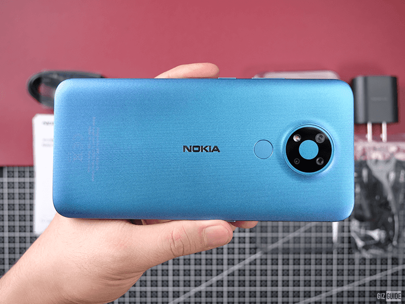 Nokia 3.4 in Fjord colorway