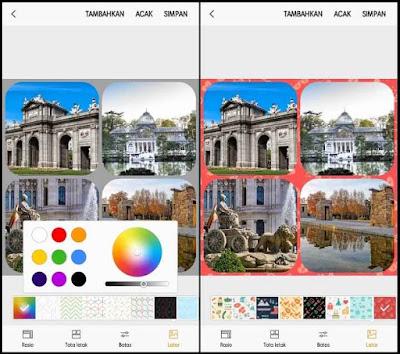 Membuat Foto Kolase di Samsung