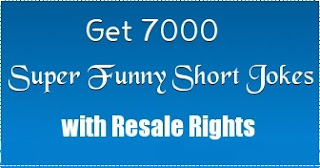 7000 Short Humor Jokes with Resale Rights for Twitter, Facebook and more!