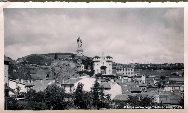 Espaly, Haute-Loire,  vers 1950