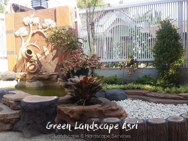 Jasa Pembuatan Relief Kolam Tebing Mojokerto | Tukang Dekorasi Relief Taman