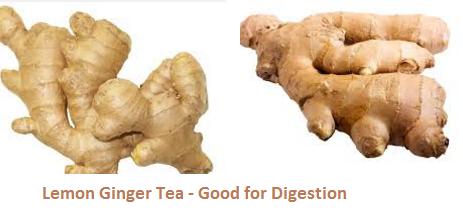 Lemon Ginger Tea - Good for Digestion