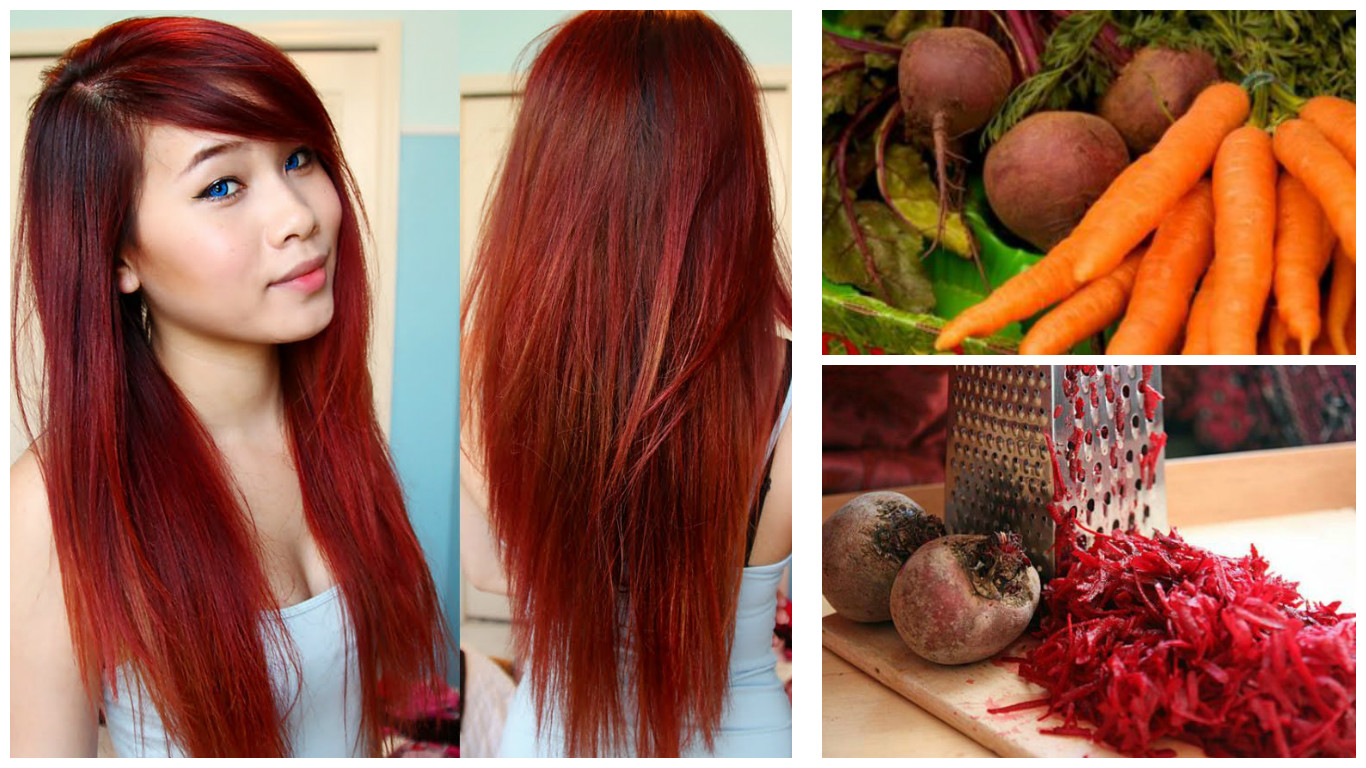 Receta casera para pintar el cabello de color rojo de manera natural cositasconmesh - Bano de color rojo pelo ...