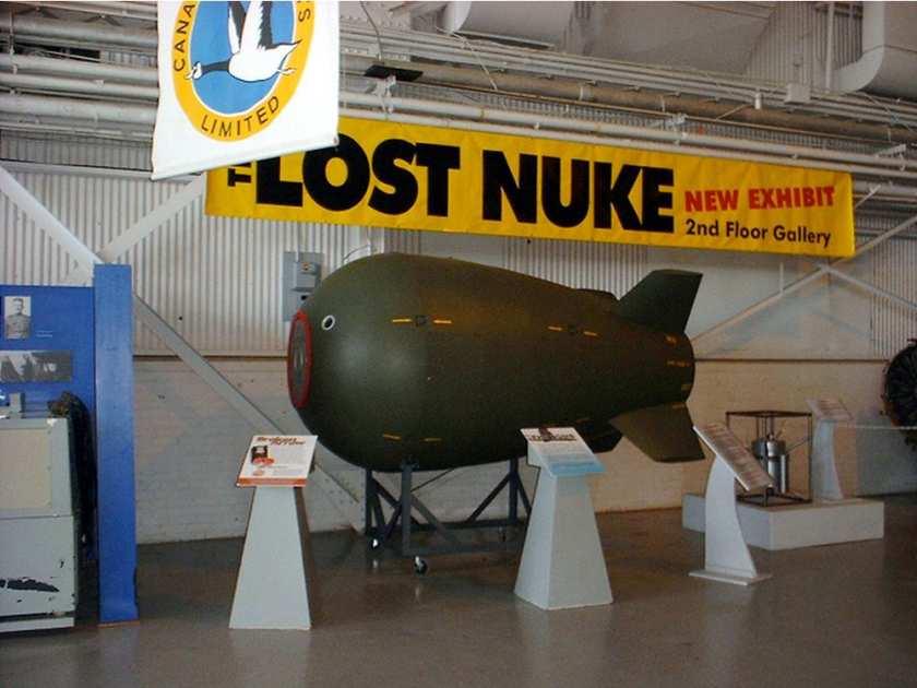 مثير. تقرير يكشف ضياع قنبلة نووية أمريكية مُدمرة في طريقها لقاعدة 'بن جرير' لايزال البحث عنها جارياً