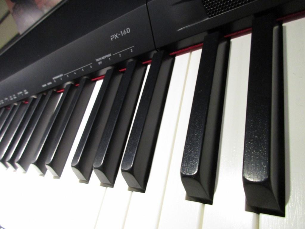 Bàn phím đàn piano điện Casio px 160