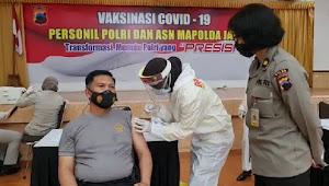 Gelombang Kedua, 200 Anggota Polda Jateng Ikuti Vaksinasi