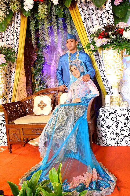 Rias pengantin dan Mua muslim hijab modern
