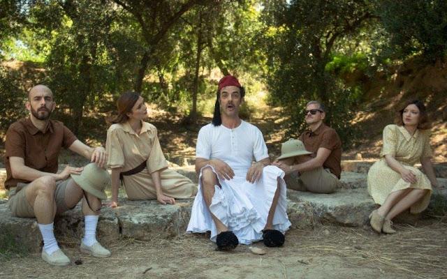 """Ναύπλιο: Εθνικό Θέατρο  """"Αθηναίων Πολιτεία – Από τον Θησέα στον Σόλωνα"""" στο Παλαμηδί"""