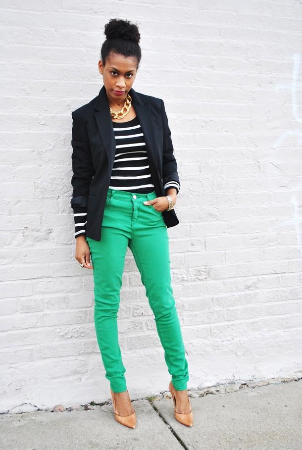 Loco Mocos: Green Pants: Fashion Staple, or Fashion WTF