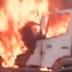 Carreta pega fogo no bairro Japiim; veja vídeo