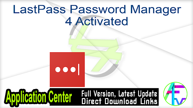 LastPass Password Manager 4 Activated