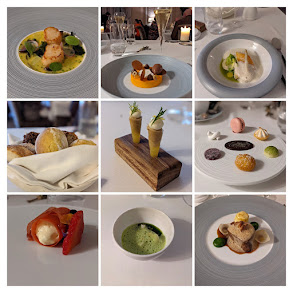 7-course signature tasting menu at the Lady Helen