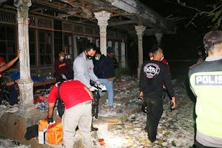 Rumah Hancur 3 Orang Tewas Akibat Meracik Petasan di Mirit Kebumen