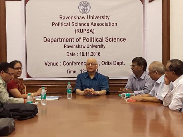 70819 Ravenshaw University Political Science Association (RUPSA) inaugurated (Source: OdishaDiary)