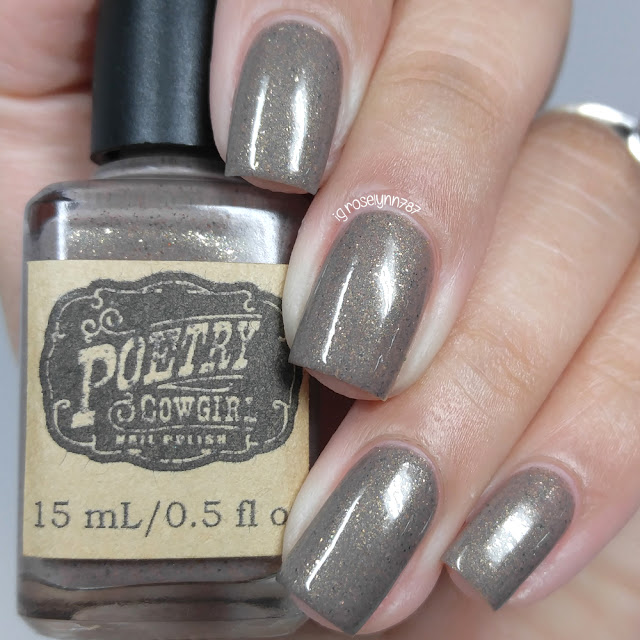 Poetry Cowgirl Nail Polish - Old Wooden Fence