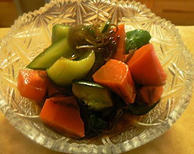 野菜と塩こんぶの漬物
