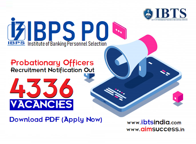 IBPS PO 2019 Notification Out - Apply Online for 4336 Posts, Download PDF!