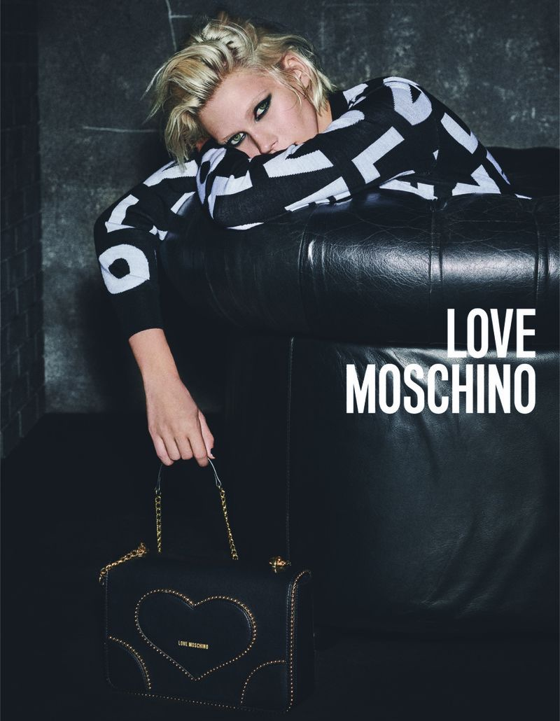 Jana Juluis fronts Love Moschino fall-winter 2019 campaign