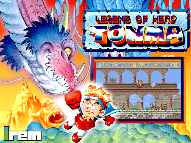 Legend Of Hero Tonma 2in1 Collection