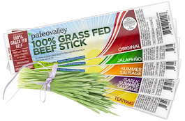 HEALTHY SNACK - GRASS FED BEEF STICKS