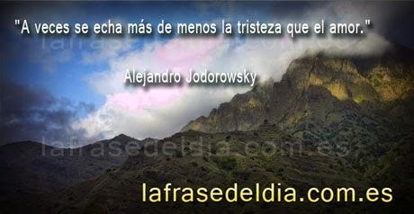 Citas desmotivadoras - Alejandro Jodorowsky