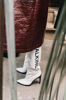 tendencia botas blancas otoño/invierno 2018