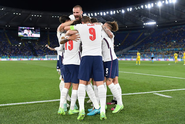 Ukraine 0:4 England