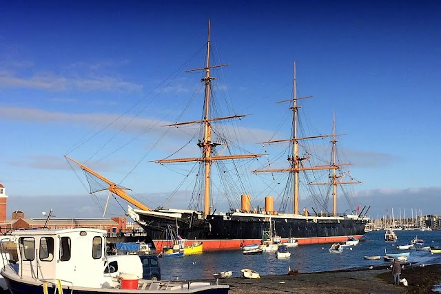 HMS Warrior Hampshire (England)