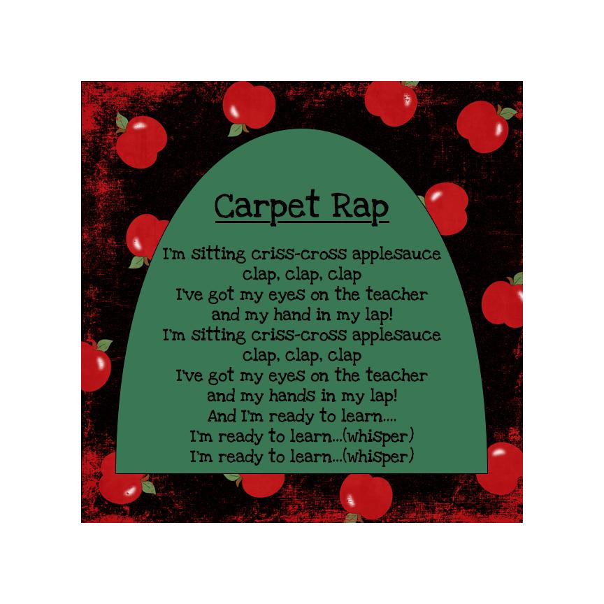Marvelous Just Love Teaching The Carpet Song Hairstyles For Women Draintrainus