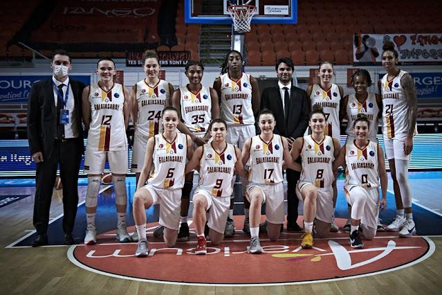 Galatasaray, Euroleague Women'da Çeyrek Finalde!