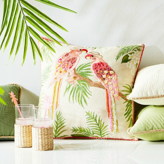 Vibrant Tropical Pillows