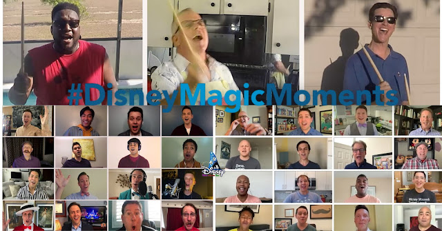 #DisneyMagicMoments, 「Dapper Dans」 及「JAMMitors」演藝人員 在家分享迪士尼魔法, Disneyland, Walt Disney World, Cast Members