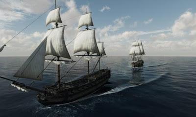 Queen Anne's Revenge e un'altra nave.
