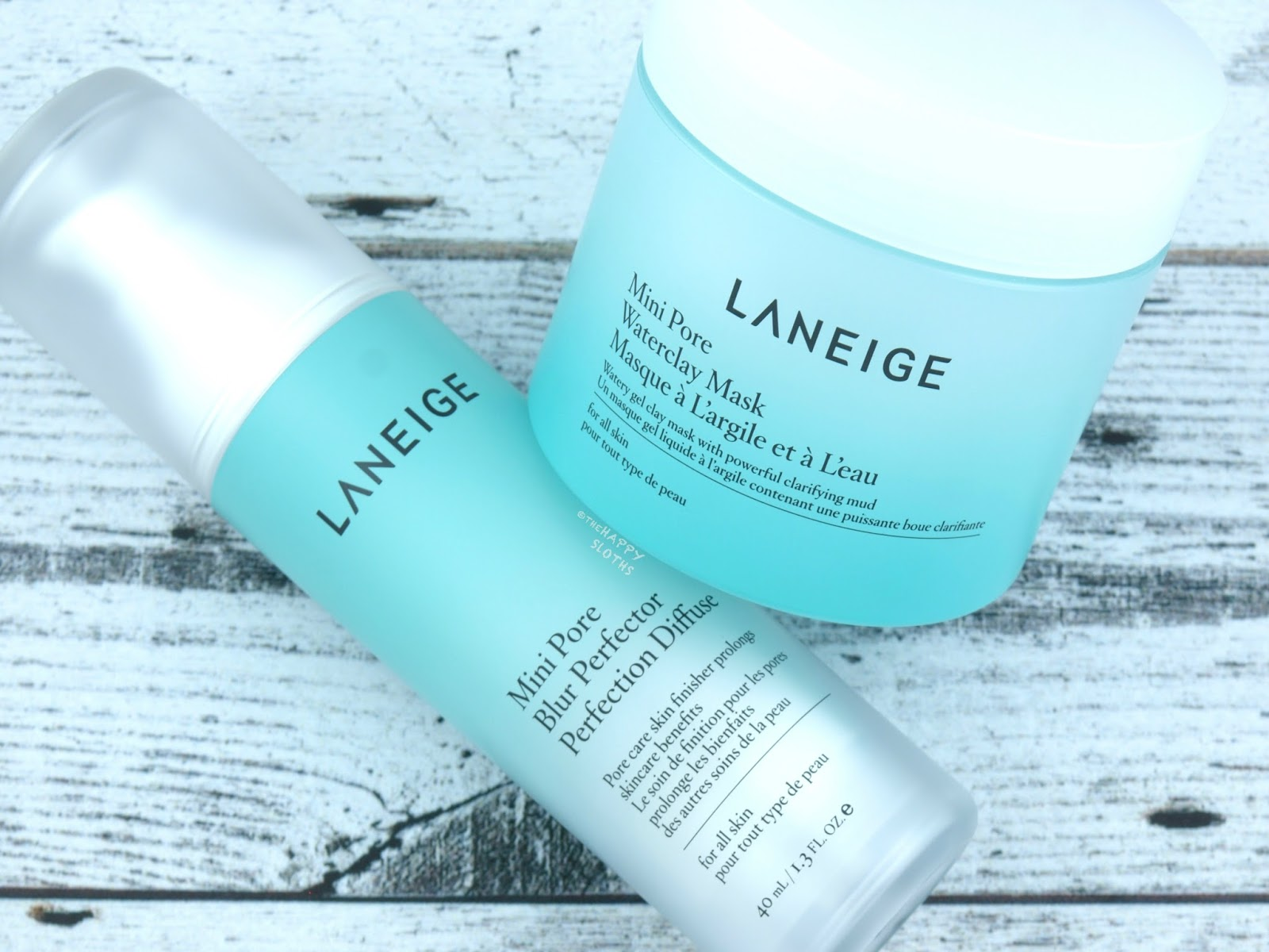 LANEIGE Mini Pore Waterclay Mask & Blur Perfector: Review