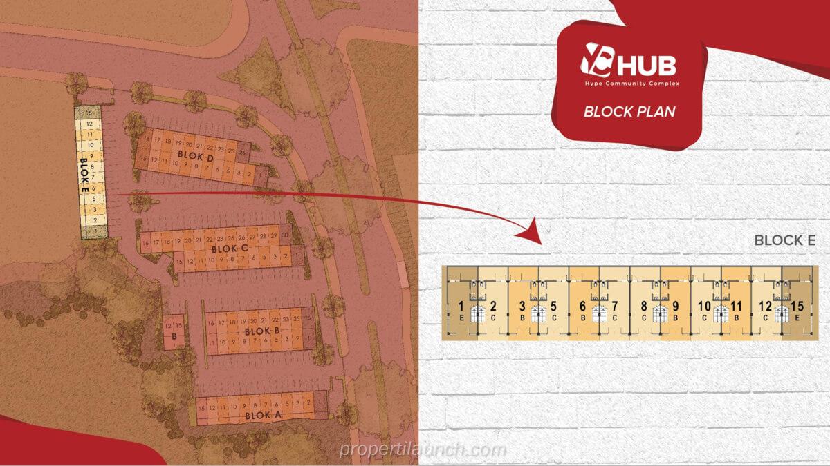 Blok E Ruko YC Hub