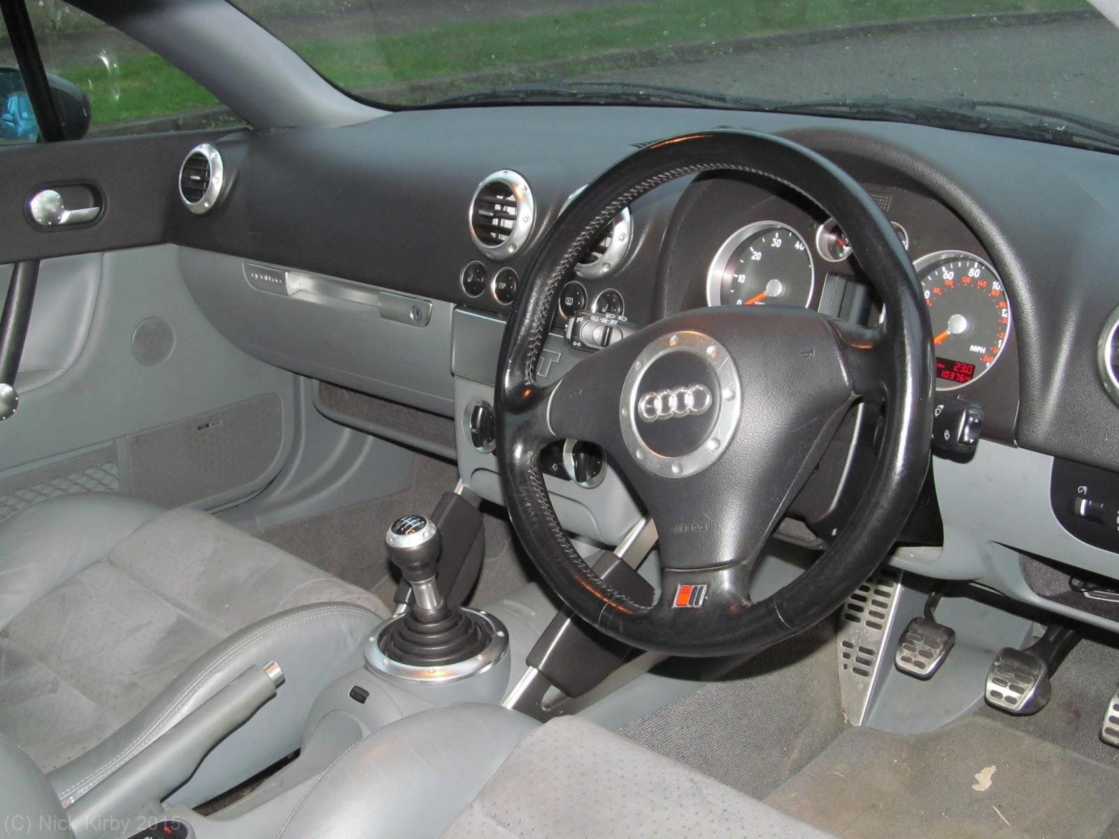 Kirby's Car Blog: Audi TT Mk1 Coupe Drive