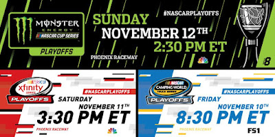 Phoenix Raceway Host #NASCAR Triple Header