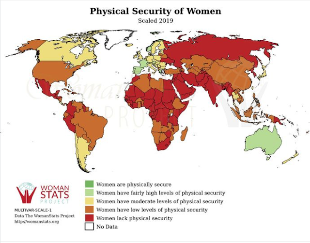 Kvinnor är inte säkra i världen