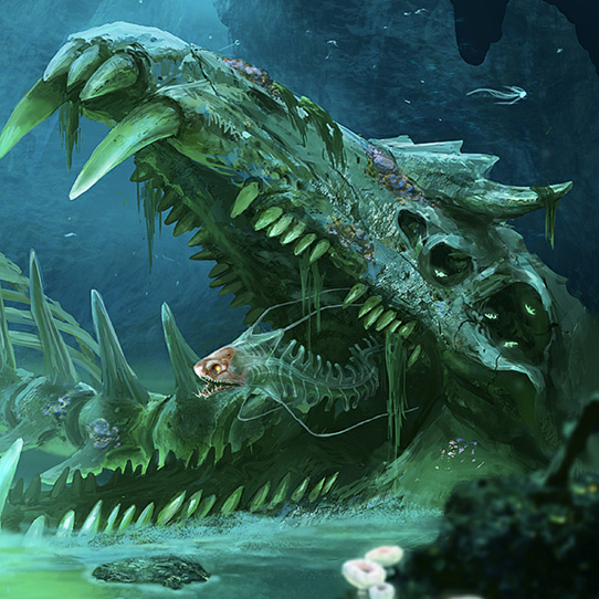 Lost River Gargantuan Fossil Wallpaper Engine